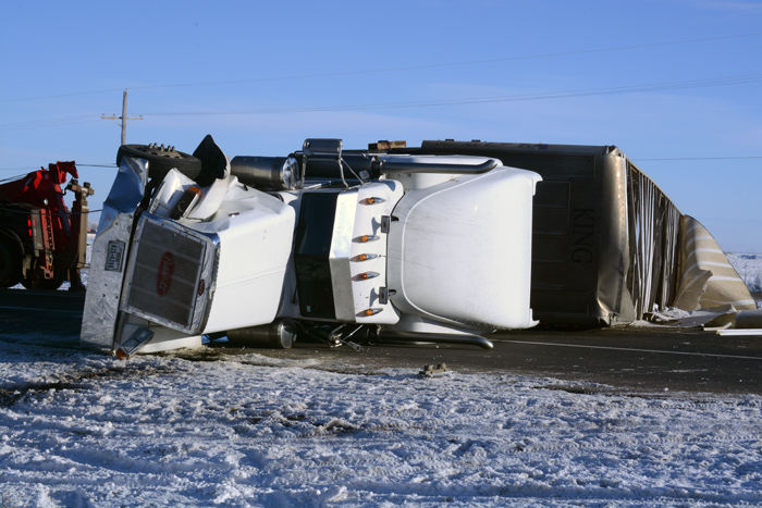 Area cowboys round up cattle set loose after semitrailer wreck ...